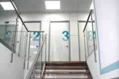 Aufgang zum 4. Stock